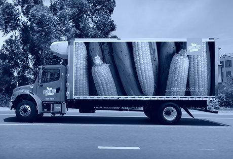 Truck Mockup Side Corn 1